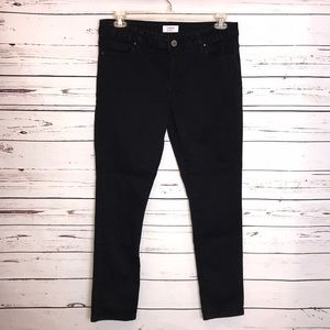 Crown and ivy black skinny ankle jeans
